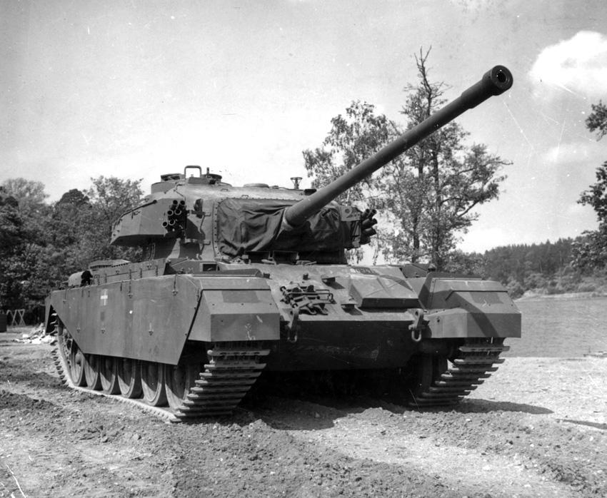 britternas första stridsvagn under första världskriget
