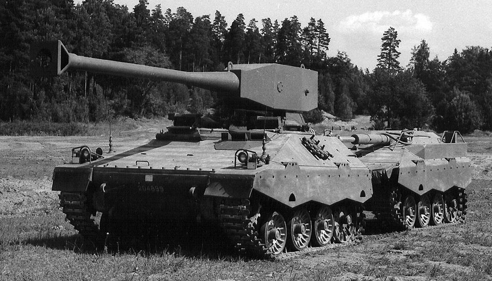 UDES XX 20 - Experimental Articulated Tank Destroyer
