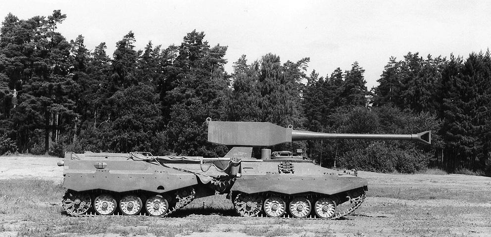 UDES XX 20 - Experimental Articulated Tank Destroyer