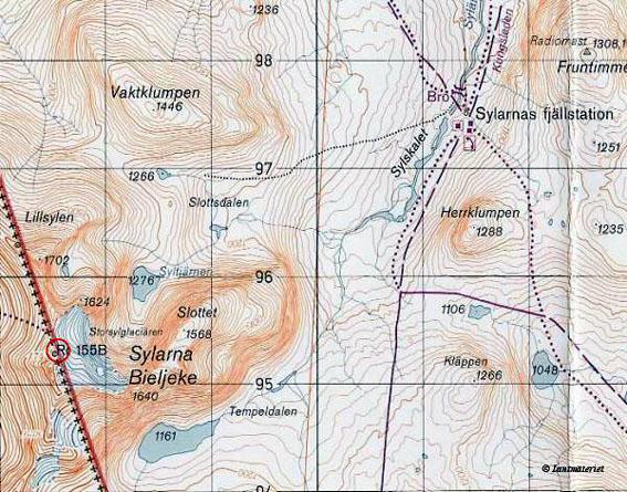karta sylarna storulvån Sylarna 1999 karta sylarna storulvån